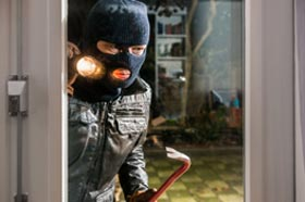 home security against burglary