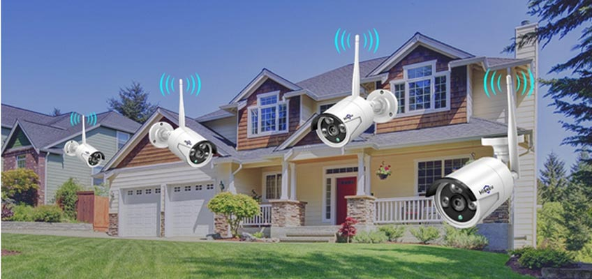 the best outdoor surveillance cameras for home use -Hiseeu